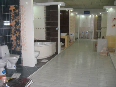 В салоне оформлены тринадцать «show rooms»